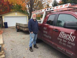 Mack's Garage Door Services - Erik Hunter TC