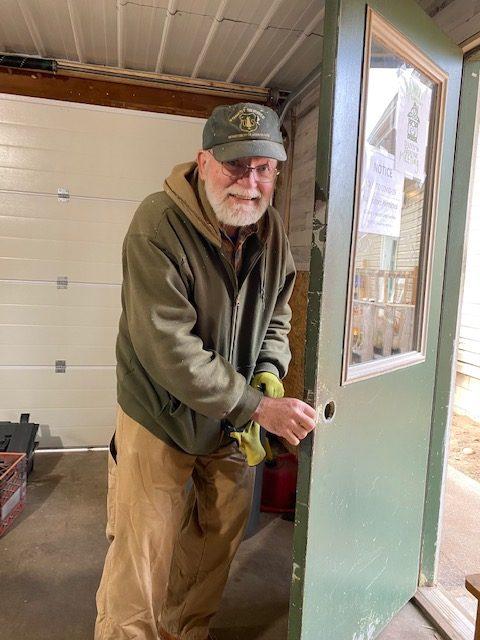 Dann's House - Karl Keinath Volunteer Extraordinaire!